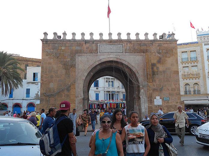 porte de France - Tunis