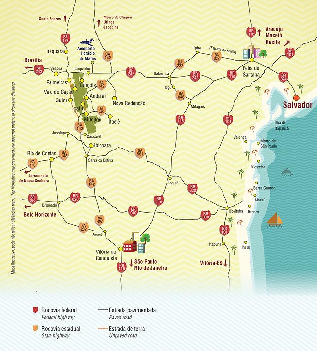 Guia-Chapada-Diamantina-Mapa-Como-Chegar