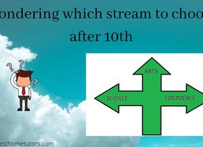 How to choose stream after 10th Class ?