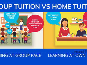 Home Tuition Vs Group Tuition.