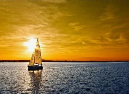 """""""Mares tranquilos não fazem bons marinheiros.""""Provérbio africano."""