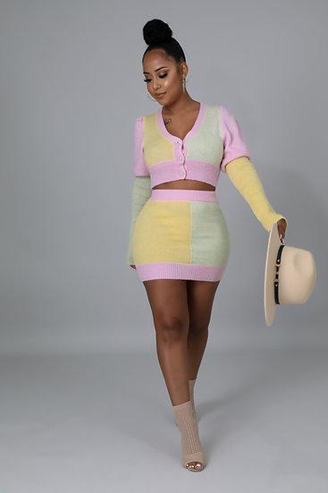 Come see skirt set