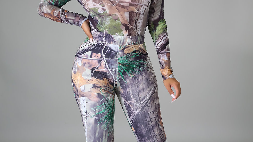 Can't hide from me leggings set