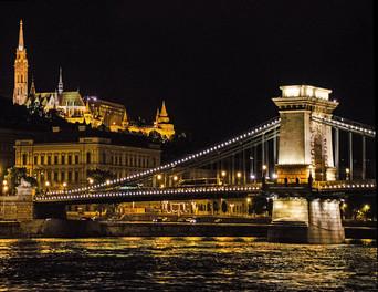 Night Lights of Budapest