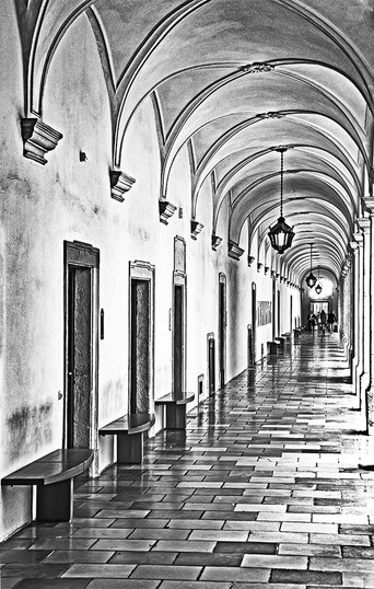 In Melk Abbey