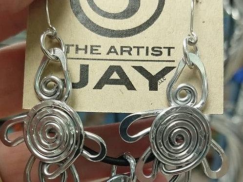 Artist Jay Turtle Rising petite earrings