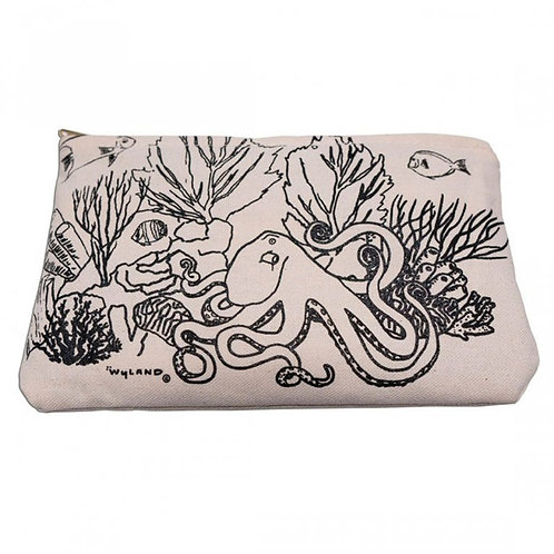 Wyland's Octopus Coral Garden DIY pouch - coloring DIY