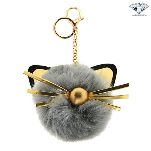 Schlüsselanhänger CAT HEAD