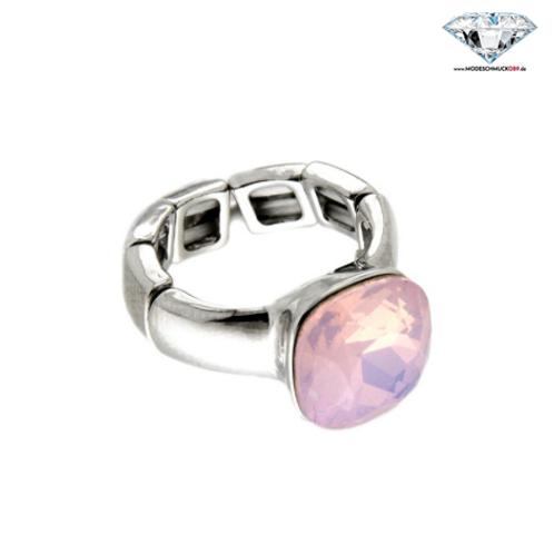 Ring DIVA silber/rose opal
