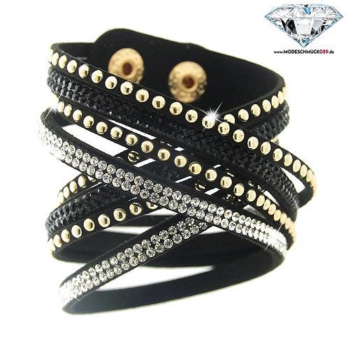Armband WANDA schwarz