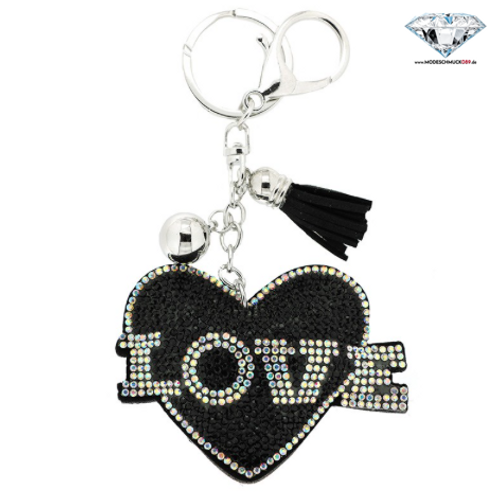 Schlüsselanhänger HEART WITH LOVE