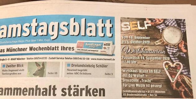 Samstagsblatt 12.09.2020