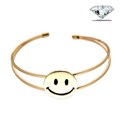 Armreif SMILE  gold