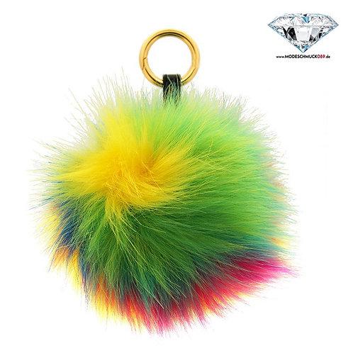 Schlüsselanhänger POM-POM  in 2 Farben