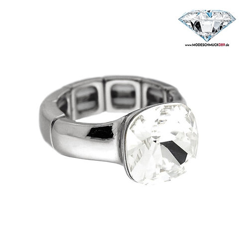 Ring DIVA silber/crystal