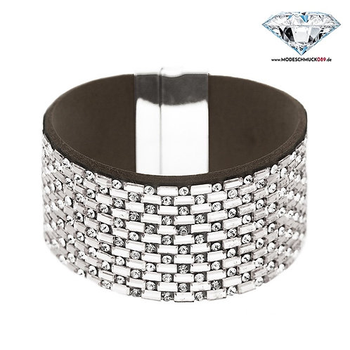 Armband TYA silber/crystal