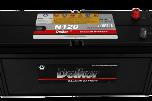Battery: N120 DELKOR (N120)