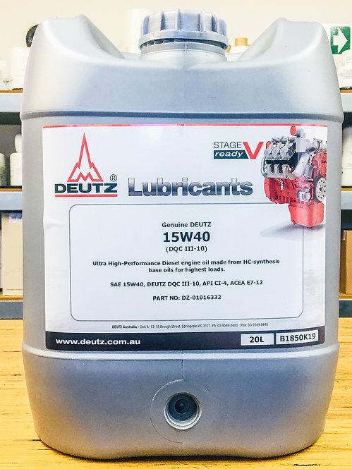 15W40 (20 litres)