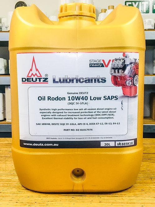 10W40 Low SAPS (20 litres)