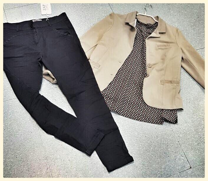 מכנס, חולצה וגקט