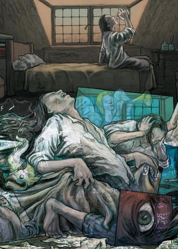'A Poetic City' Comic