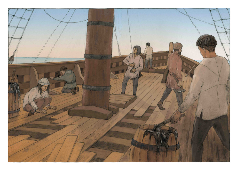 Newport Ship - Willem Hampson