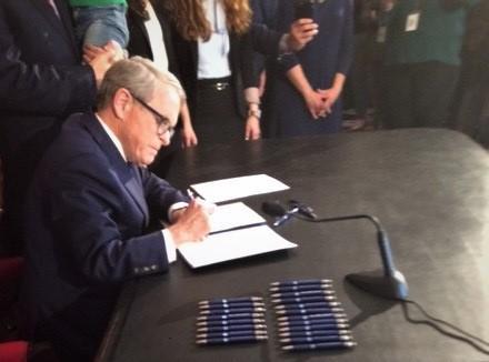 DeWine Signing Heartbeat Bill