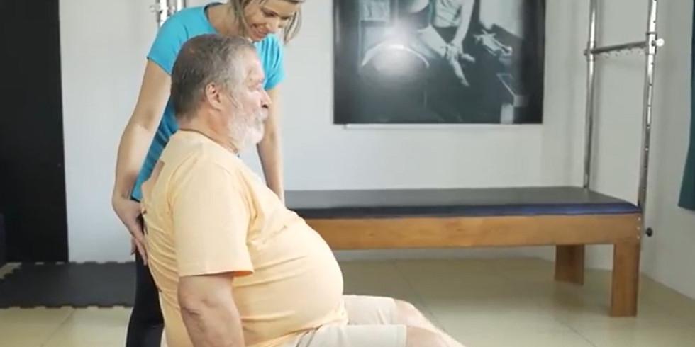 Pilates na saúde do Idoso - On line