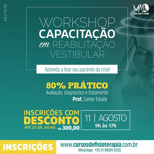 Capacitação em Reabilitação Vestibular