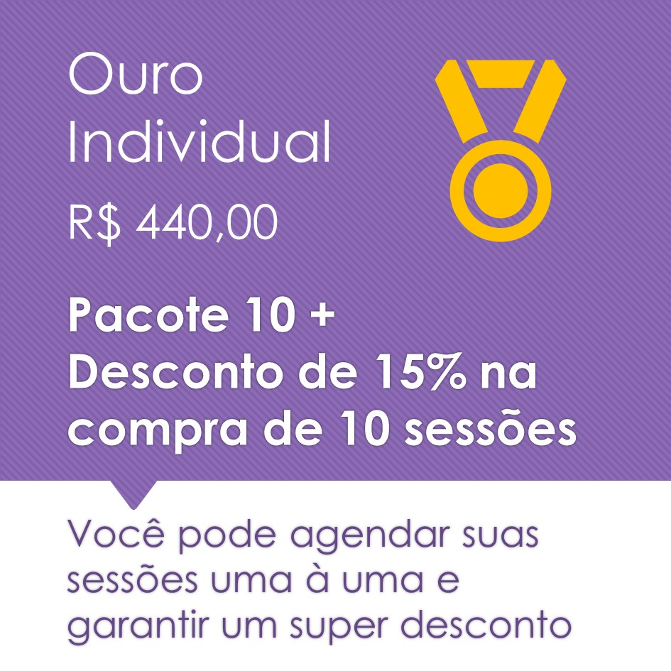 Pilates Individual Ouro 10+