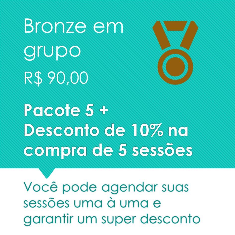 Pilates em grupo Bronze 5+