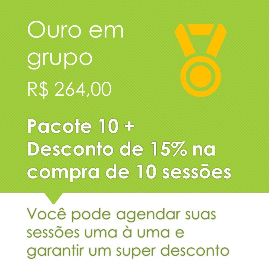 Pilates em Grupo Ouro 10+