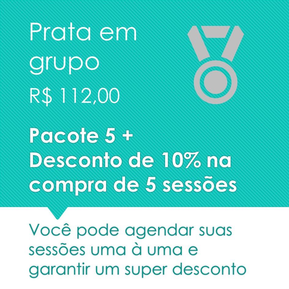 Pilates em Grupo Prata 5+
