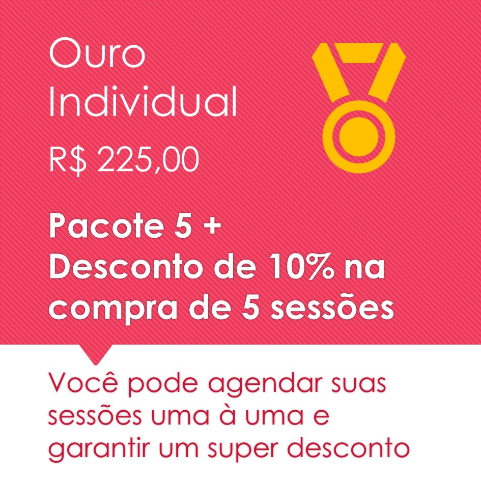 Pilates Individual Ouro 5+