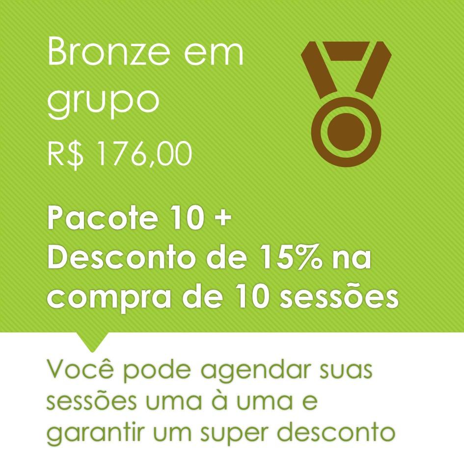 Pilates em Grupo Bronze 10+
