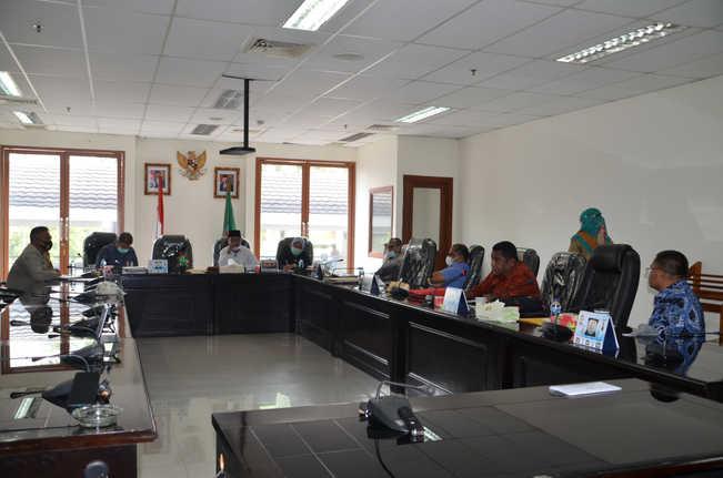 Rapat Komisi I Bersama Kapolda Maluku