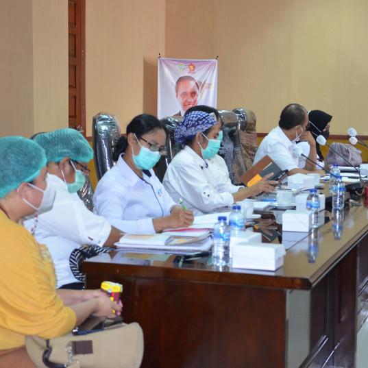 Rapat Bersama Tim I Bidang Kesehatan