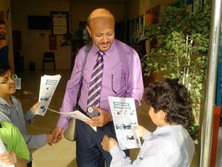 IB Activity: Distribution of our newspaper