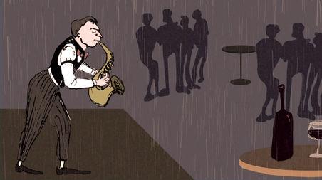 1920s jazzclub