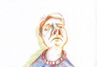 Selvmedlidende selvportrett