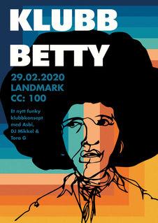Plakat til Klubb Betty, Landmark
