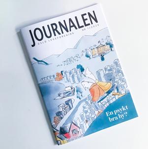 Cover til Journalen