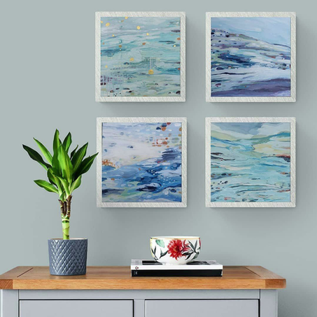 Intertidal zone- paintings and inspiration