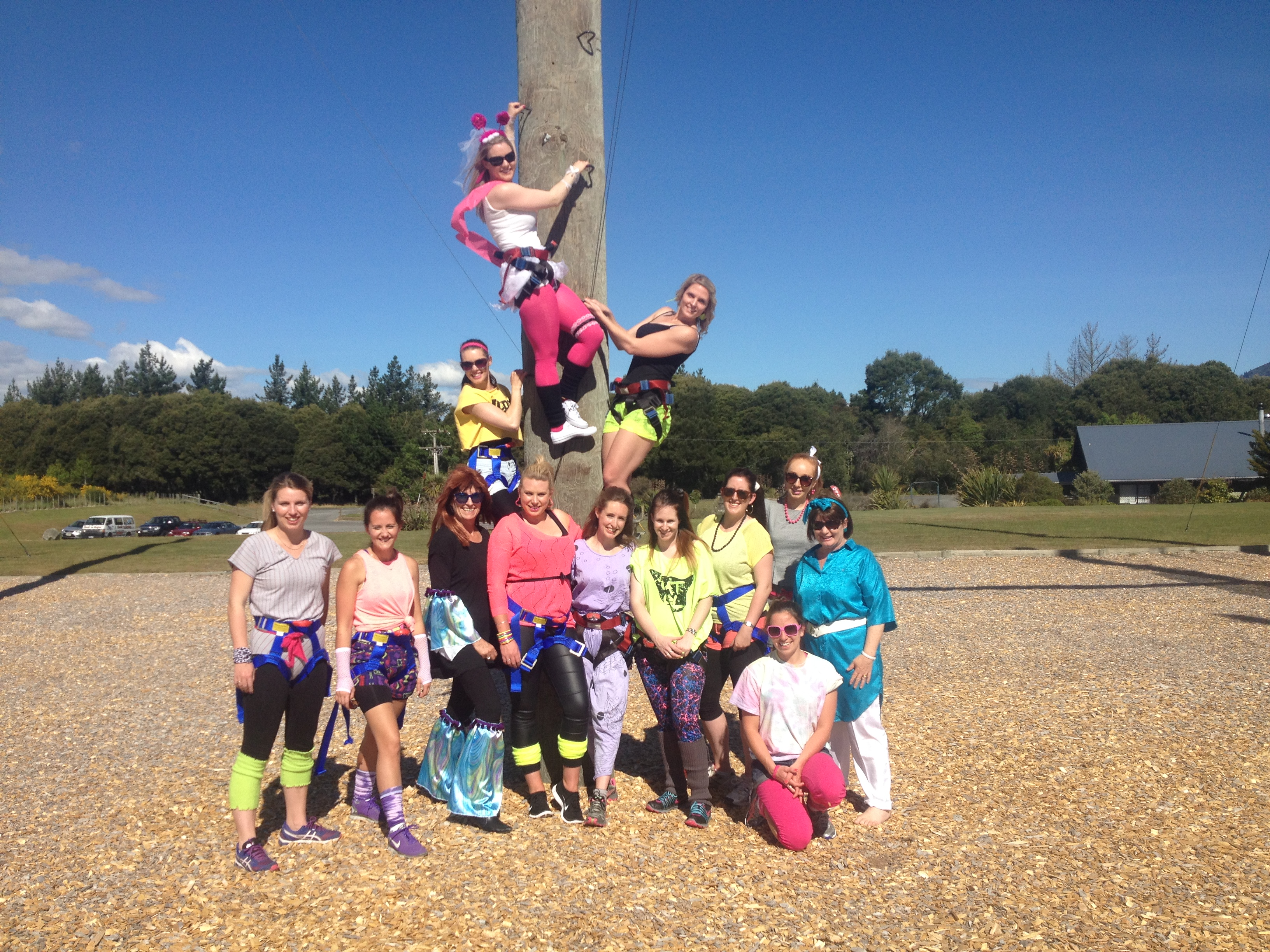 Hen Party on the High Ropes