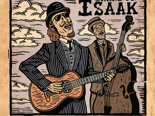 Canadian Blues & Roots Artist Brandon Isaak to Release Modern Primitive July 16th