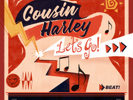 VANCOUVER'S 'MOTORHEAD OF ROCKABILLY' COUSIN HARLEY TO RELEASE LET'S GO!