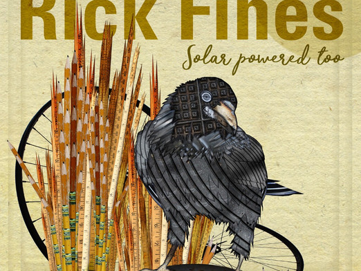 ROOTS MUSICIAN RICK FINES IS SOLAR POWERED TOO ON NEW RELEASE