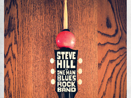 """GUITARIST STEVE HILL RELEASES NEW LIVE ALBUM """"THE ONE-MAN BLUES ROCK BAND"""""""