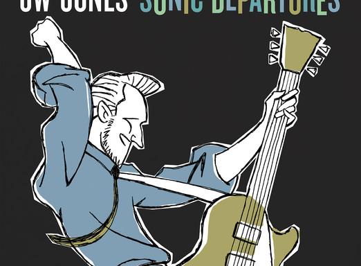 "CANADIAN BLUES ARTIST JW-JONES TO RELEASE HIS ""SELF-ISOLATION"" ALBUM SONIC DEPARTURES"