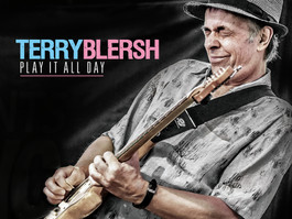 Toronto-based blues and roots artist Terry Blersh releases 'Play It All Day'